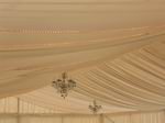 12m Lining, with lights by Wedding Station