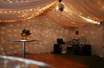 6m structure full lined with mirror ball