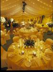 Wedding Structure with tables and chairs